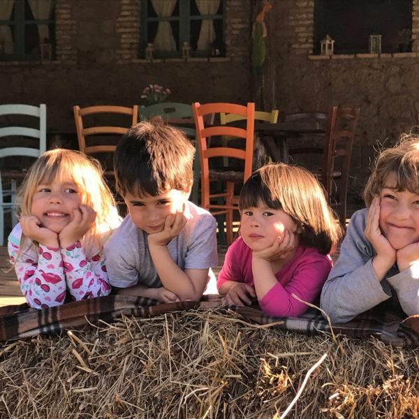 bambini al centro estivo