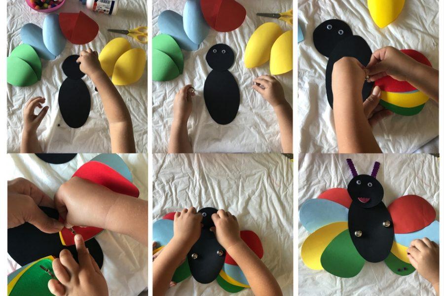 attività per bambini - animali di carta