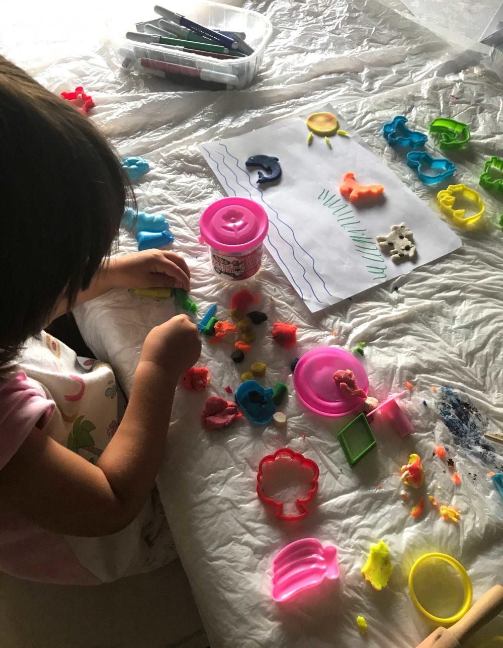 Attività per bambini - giocare con il didò