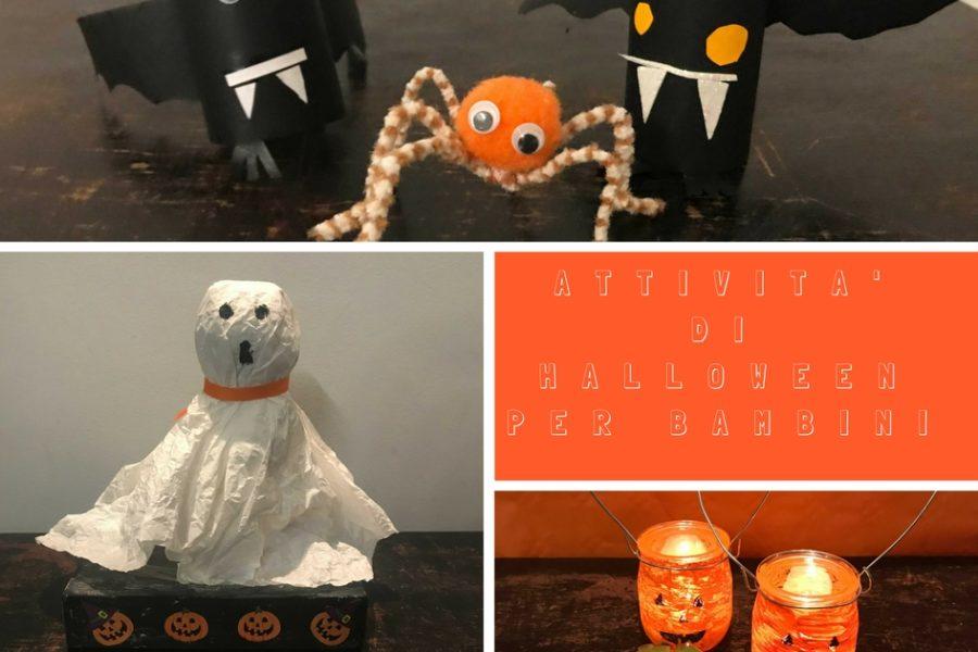 attività di Halloween per bambini