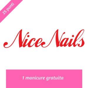 Nice nails manicure premio ORA X