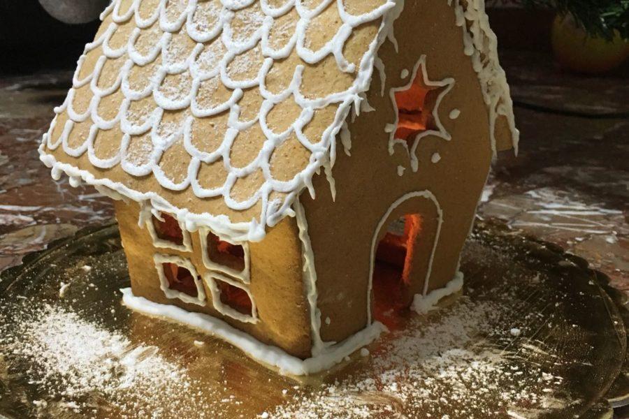 Casetta Di Natale Di Cioccolato : La casetta di pan di zenzero di hansel e gretel ora x