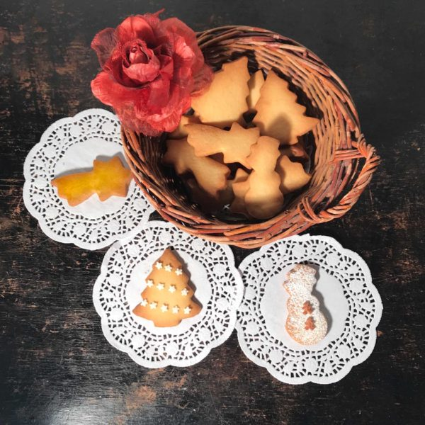 biscotti al burro per natale