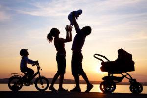 famiglia attività insieme