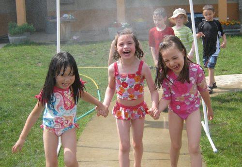 giochi bambini con acqua