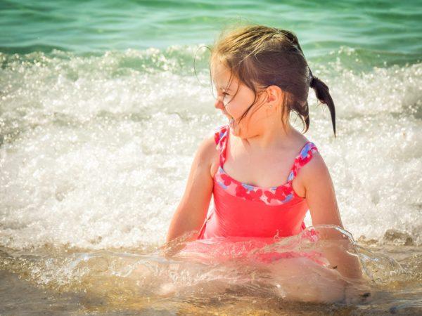giochi bambini al mare e spiaggia